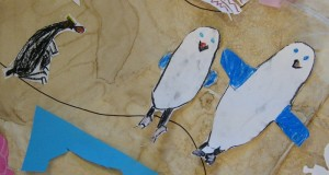 10 Penguins on the beach map r